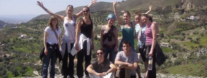 Wandern und Spanisch üben in Granada