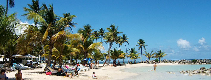 Strand in Sainte-Anne, Guadeloupe