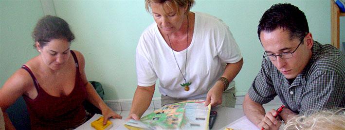 Französischunterricht in Guadeloupe
