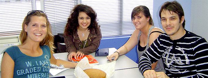 Spanischklasse in Ibiza