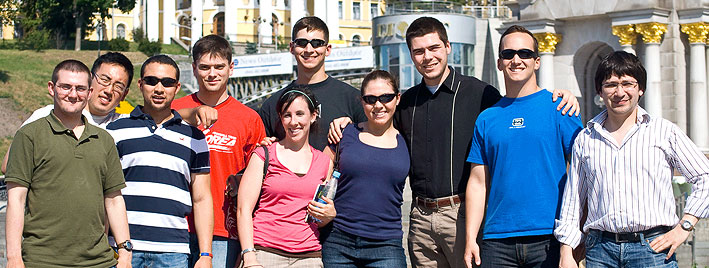 Sprachschüler in Kiew