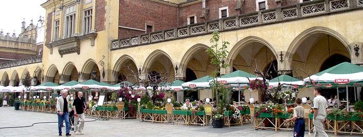 Hauptplatz in Krakau