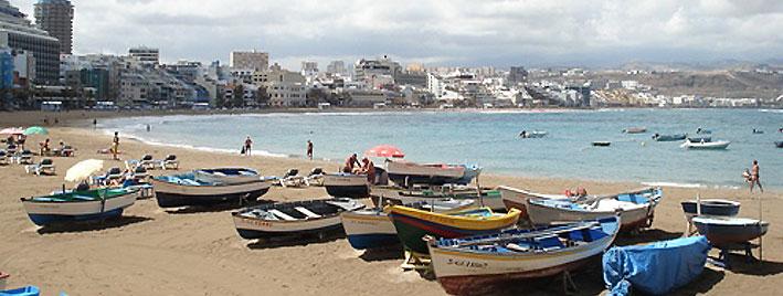 Boote in Las Palmas, Gran Canaria