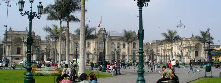 Die Altstadt Limas, Peru