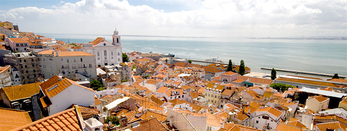 Über den Dächern Lissabons, Portugal