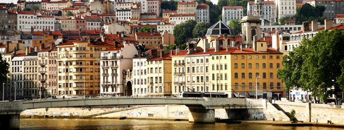 Gebäude in Lyon