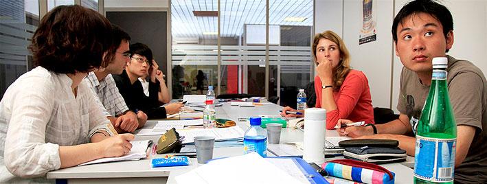 Französischklasse in Lyon