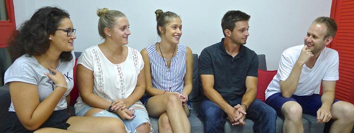 Spanisch lernen in der Gruppe in Madrid