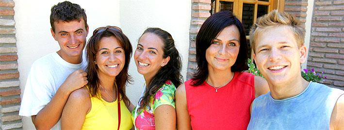 Freundschaften knüpfen in Malaga