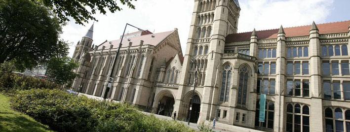 Gebäude der Universität Manchester
