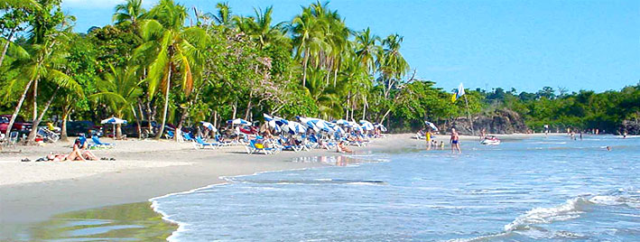 Strand in Manuel Antonio, Costa Rica