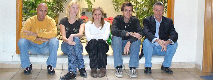 Sprachschüler an unserer Schule in Mexiko Stadt