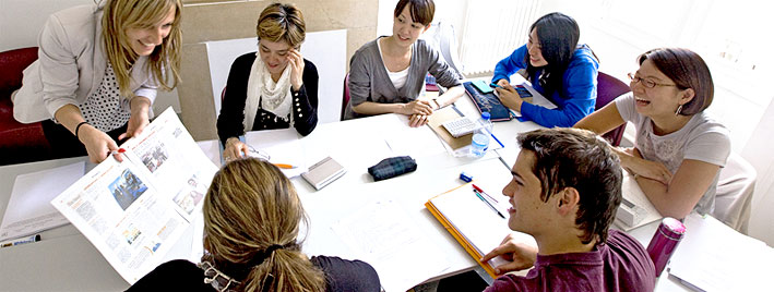 Französischklasse in Montpellier