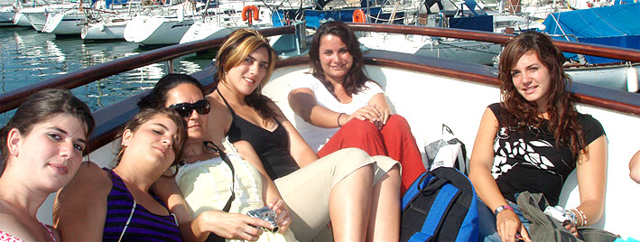 Bootsausflug in Montpellier