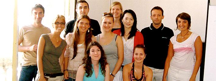Französisch lernen in der Gruppe in Montpellier