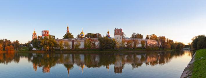 Nowodewitschi-Kloster in Moskau, Russland