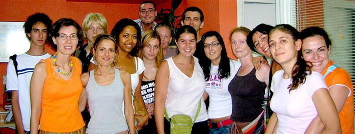 Spanischgruppe in Murcia