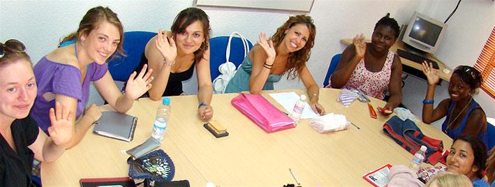 Spanischklasse in Murcia