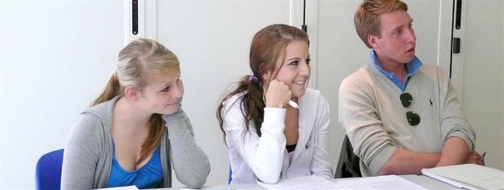 Prüfungsvorbereitung in Nizza