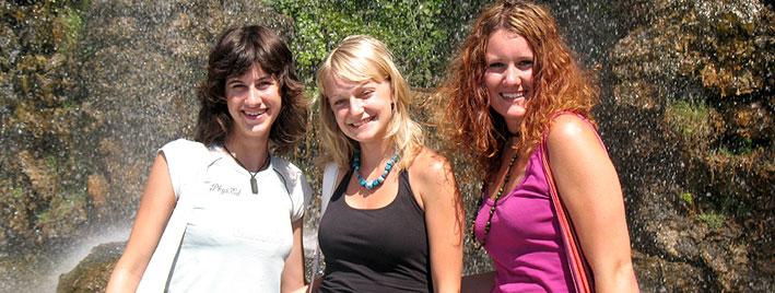 Freunde bei einem Französischkurs in Nizza finden