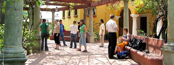 Spanischschule nach Unterritchtsende in Oaxaca