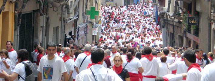 Stierrennen, San Fermin, Pamplona