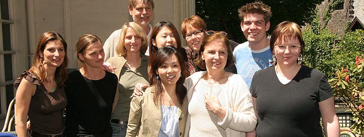 Französischgruppe in Paris
