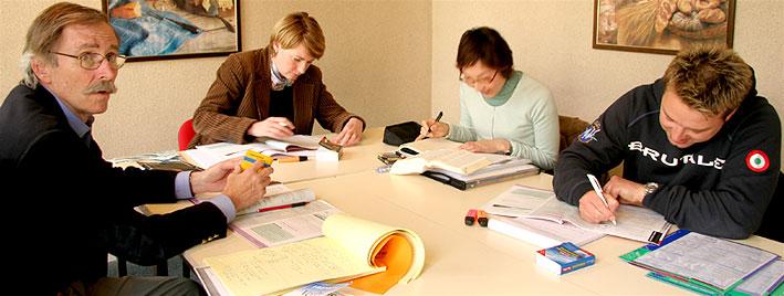 Französischklasse in Paris