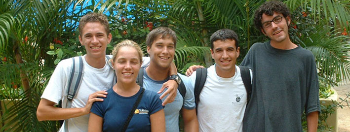 Sprachschüler lernen Spanisch in Playa del Carmen