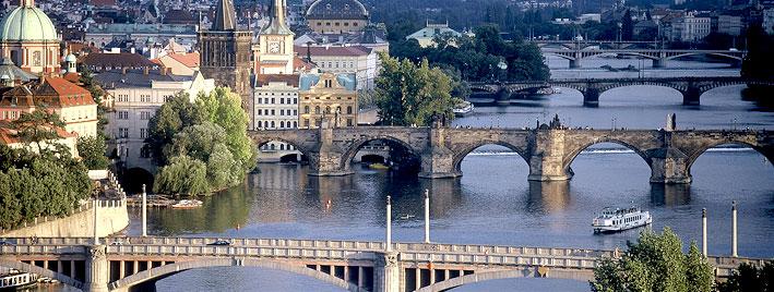 Blick auf Prag, Kralsbrücke