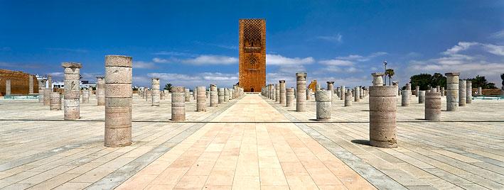 Hassan-Turm, Rabat, Marokko