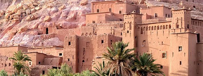 Alte arabische Festung in Marokko