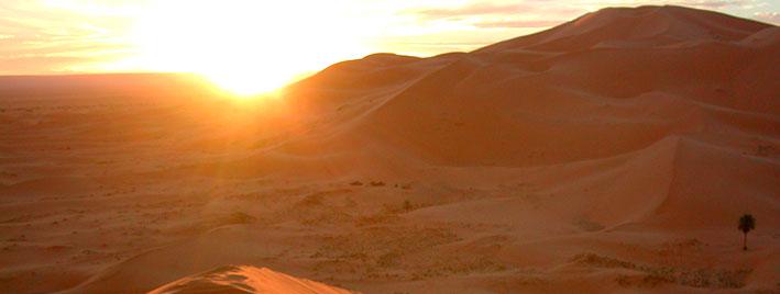 Wüstensonne bei Rabat