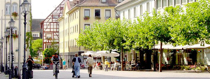 Radolfzeller Stadtzentrum