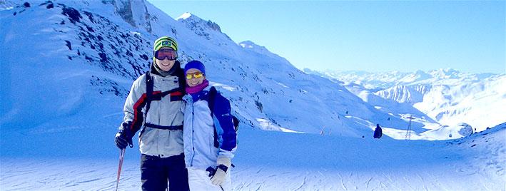 Deutschkurs und Skifahren in Radolfzell