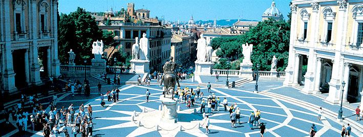 Piazza del Campidoglio, Rom