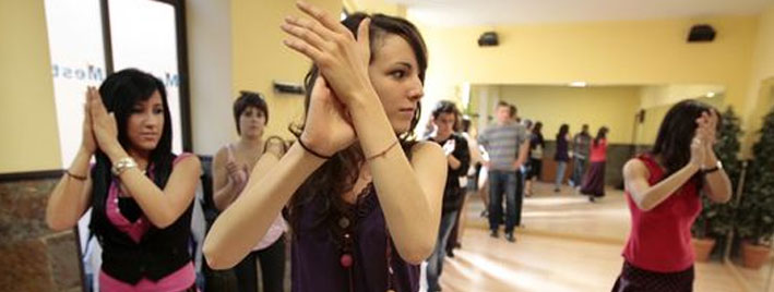 Tanzstunde in Salamanca