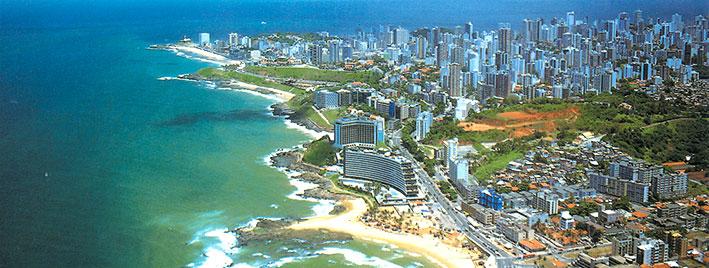 Luftbild von Salvador da Bahia
