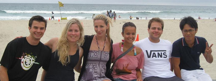 Englisch üben am Strand in San Diego