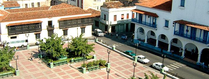 Zentraler Platz in Santiago de Cuba