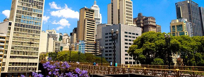 Gebäude in Sao Paulo, Brasilien