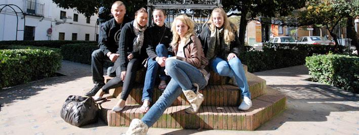 Freundschaften knüpfen bei einem Spanischkurs in Sevilla