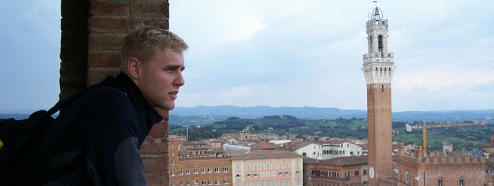 Blick über den Piazza del Campo, Siena