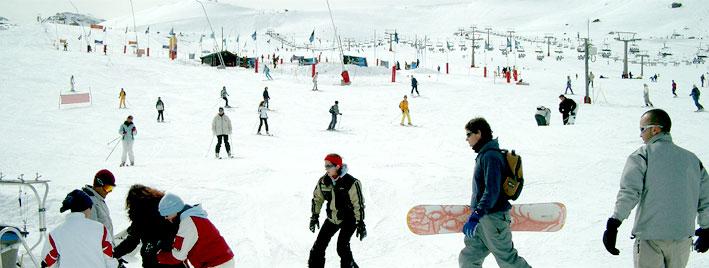 Spanisch und Skifahren in Granada