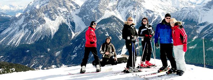 Deutsch und Skifahren in Wien
