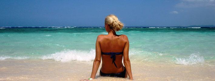 Strand in Sosua, Dominikanische Republik