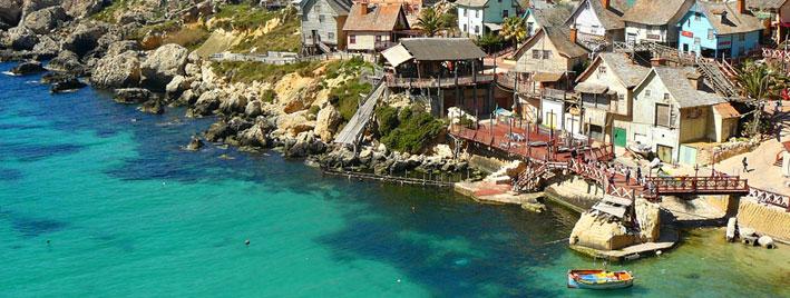 Popeye Village, Maltesische Inseln