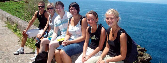 Spanischklasse auf Teneriffa