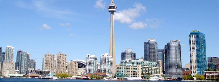 Toronto Skyline mit CN Tower