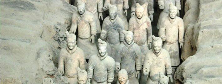 Terrakottaarmee bei Xi'an, China